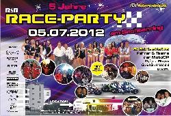 Raceparty auf dem Sachsenring