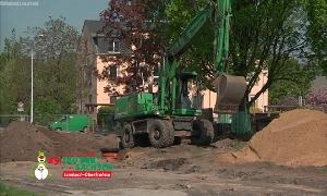 Limbach-Oberfrohna ist derzeit eine gro�e Baustelle