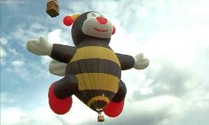 Mini - Hei�luftballon f�r Kuscheltiere
