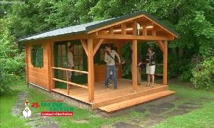 Kinder- und Jugendheim Limbach-Oberfrohna hat ein neues Gartenhaus