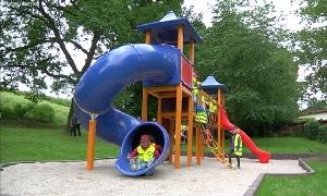 Neuer Spielplatz im Lunzenauer Ortsteil G�ritzhain