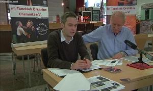 Vorsitzender Wilfried Krüger und Stellvertreter Henning Rechenberg