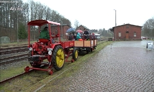 Ostereier-Suchfahrten der Eisenbahnfreunden Chemnitztal