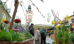 Ostermarkt auf Schloss Wolkenburg