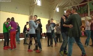 Tanzstunde der Förder-Schule am Stadtpark