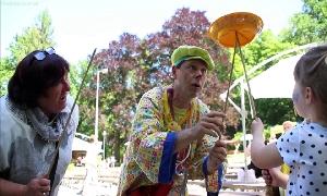 Kinderfest in Burgstädt