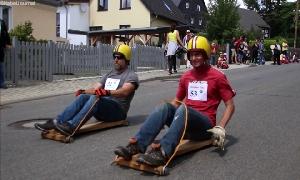 Bobby-Car- und Caretti-Rennen