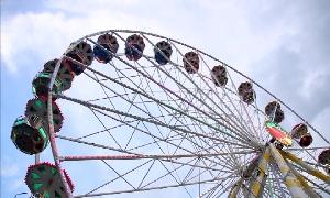 Stadtparkfest wieder mit Riesenrad