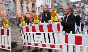Markt in Limbach-Oberfrohna wieder freigegeben