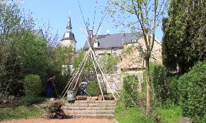 Frühjahrsputz im Karl-May-Haus