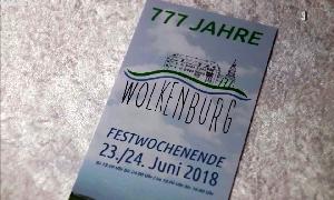 777 Jahre Wolkenburg wirft seine Schatten voraus