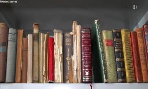 Bibliothek in Wüstenbrand