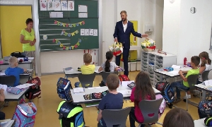 Oberbürgermeister Dr. Jesko Vogel begrüßt ABC-Schützen