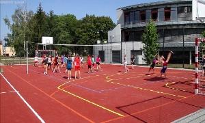 Außensportanlage des Albert-Schweizer-Gymnasiums