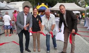 WG Sachsenring eröffnet neuen Spielplatz