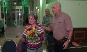 Christa Ludwig und Professor Klaus Eulenberger
