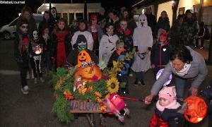 Halloween-Veranstaltung in Burgstädt