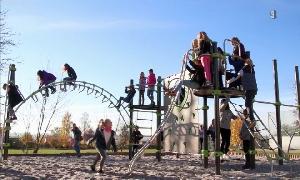 Spielplatz der Karl-May-Grundschule