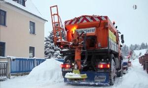 Der Winter kann in Lombach-Oberfrohna kommen.