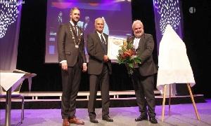 Ehrenbürgerrecht an Professor Klaus Eulenberger verliehen