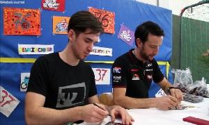 Ein Schultag mit Arnaud Friedrich und Max Neukirchner