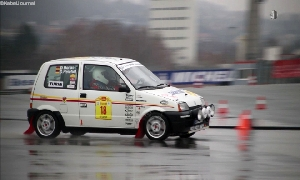 Rallyeshow auf dem Sachsenring