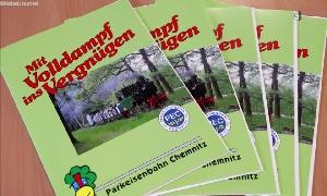 Chemnitzer Parkeisenbahn über die Vorhaben und Veranstaltungen in den nächsten Monaten