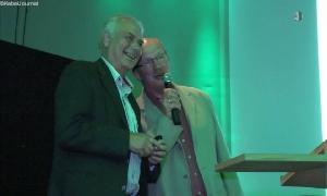 Professor Klaus Eulenberger und Gerd Nötzold