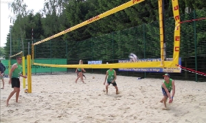 Beachvolleyball-A-Masterturnier