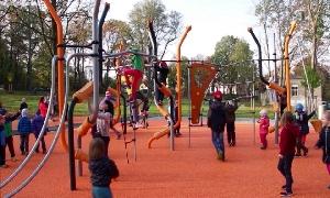 Neuer Stadtpark in Oberlungwitz