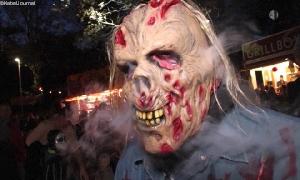 Halloween- und Lichternacht in Wüstenbrand