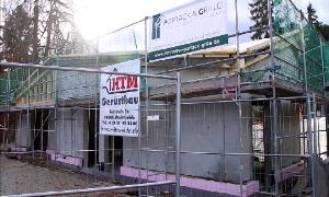 Richtfest für neues Kassenhaus