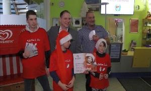 Bewohner des Kinderheims erhielten ein besonderes Nikolaus-Geschenk