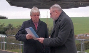 Dieter Greysinger und Matthias Damm