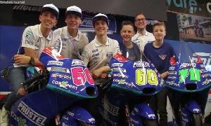 Präsentation des Prüstel-GP-Teams am Sachsenring