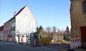 Bauarbeiten Karl-May-Haus-Depot