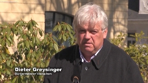 Bürgermeister Dieter Greysinger