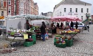 Bauernmarkt in Limbach-Oberfrohna