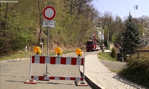 Wolkenburger Schloßberg gesperrt