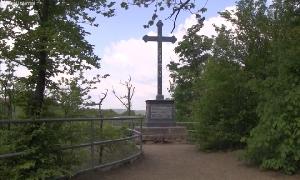 Theodor-Körner-Denkmal auf dem Harrasfelsen