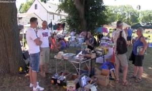 1. Flohmarkt des Jugendclubs Berthelsdorf