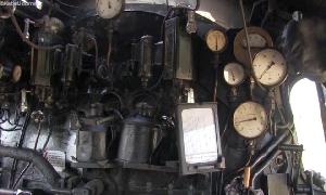 Führerstand der Dampflok 50 36 48