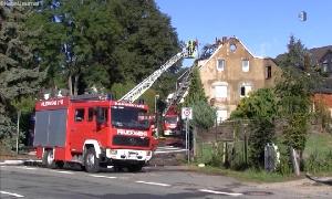 Brand in Röhrsdorf