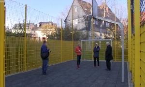 Bolzplatz der Oberschule Hainichen