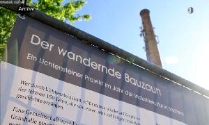 Wandernder Bauzaun
