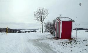Neue Schutzhütte in Niederfrohna
