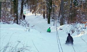 Wintersport abseits der Pisten