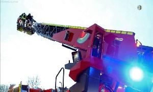Neue Drehleiter für Freiwillige Feuerweh