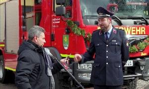 Neues Einsatzfahrzeug für Freiwillige Feuerwehr Hartmannsdorf