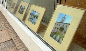 Fotoausstellung in den Schaufenstern